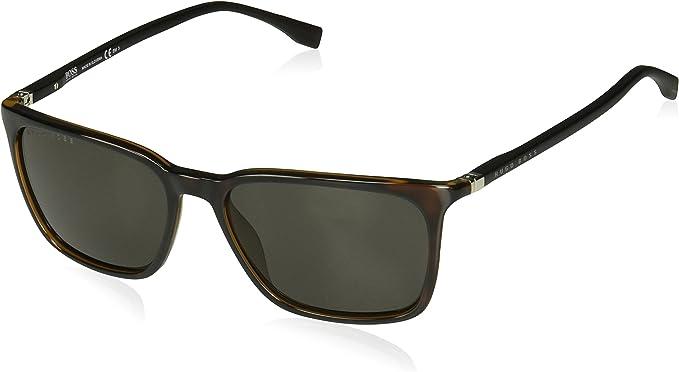 Hugo Boss Sunglasses 0959//S 003 M9 Matte Black Grey Polarized