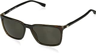 Men's Boss 0959/s Rectangular Sunglasses, DKHAVANA, 56 mm