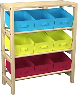 Mecor Dresser Storage Tower, Sturdy Wooden Frame And Top,...