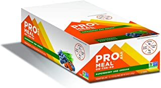 PROBAR - Meal Bar, Superberry and Greens, Non-GMO, Gluten-Free, Certified Organic, Healthy, Plant-Based Whole Food Ingredients, Natural Energy (12 Count) Packaging May Vary