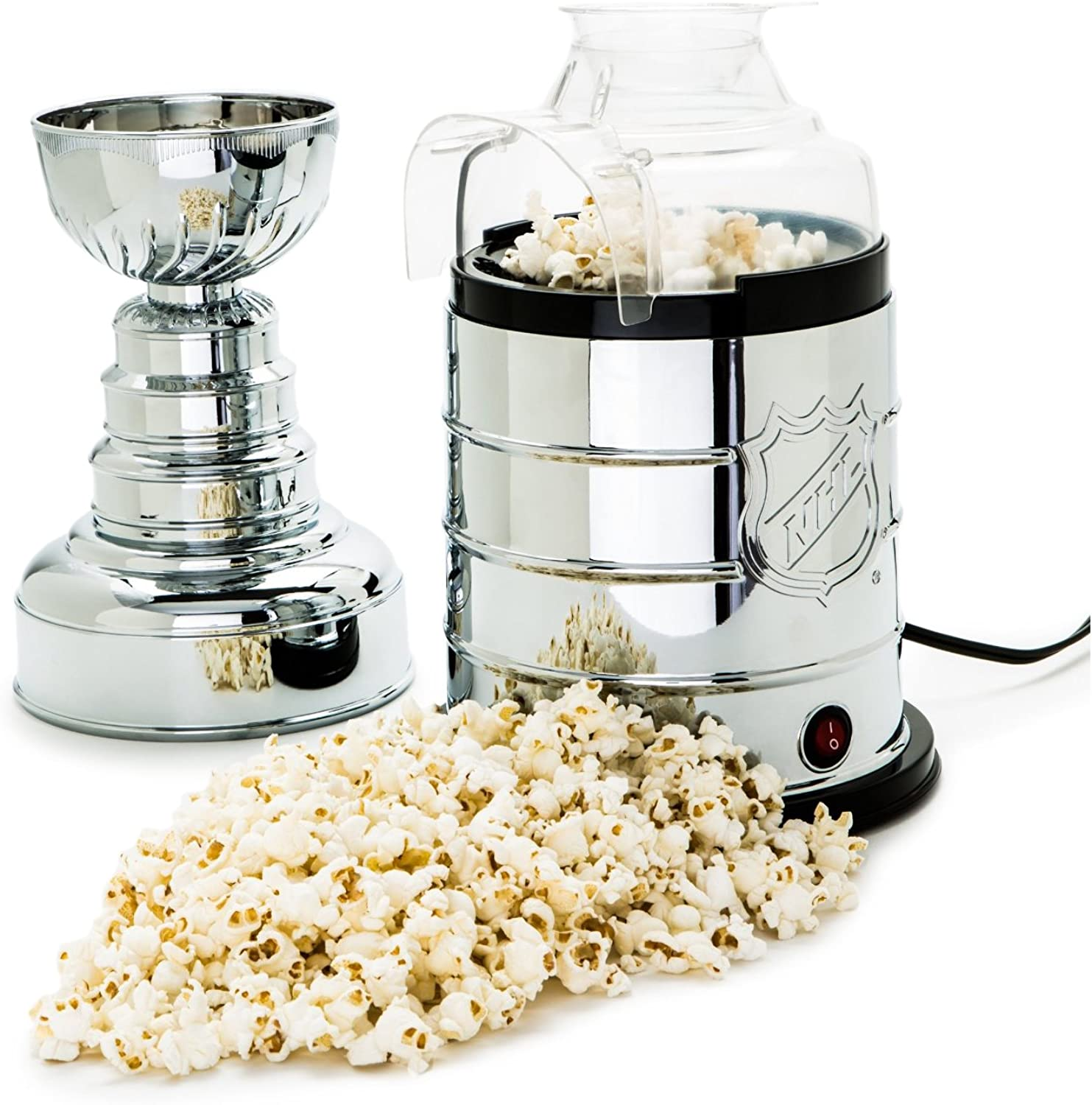 NHL League Logo Stanley Cup Hot Air Popcorn Popper