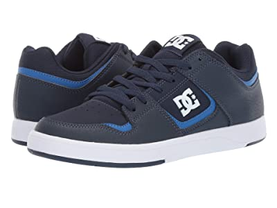 DC DC Shoes Cure (Blue/Blue/White) Men