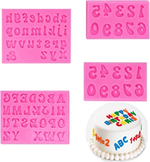Letter L Badge Plastic Mold Upper Case Alphabet Mould Chocolate Fondant Soap Candle Wax Melt Lollipop One Birthday Cake Topper Resin Mold