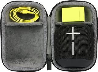 Black khanka Hard Travel Case Replacement for Ultimate Ears WONDERBOOM//WONDERBOOM 2 Waterproof Super Portable Bluetooth Speaker