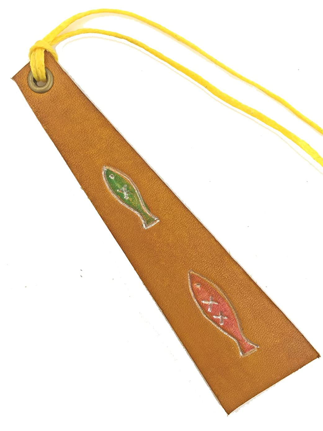 Unique Gift - Pure Hand Painted Bookmarks, Pendant (010-Walking)