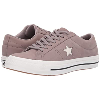 Converse One Star After Party (Mercury Grey/Vintage White/Black) Lace up casual Shoes