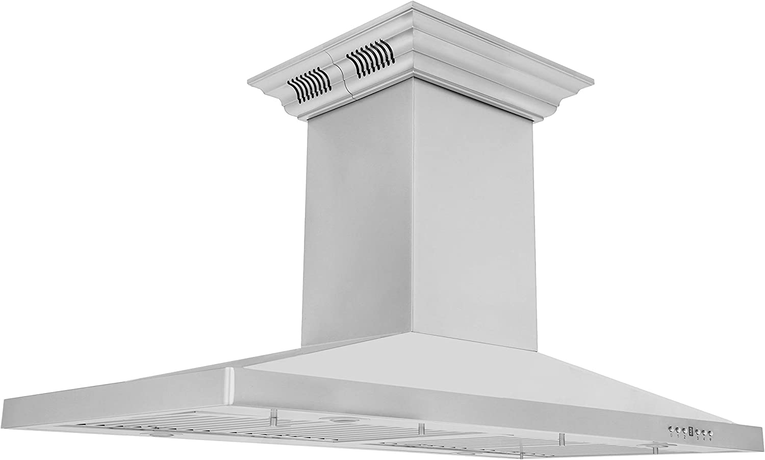 ZLINE 48 in. Island Mount Range with in Bui Super popular specialty store shop Stainless Steel Hood
