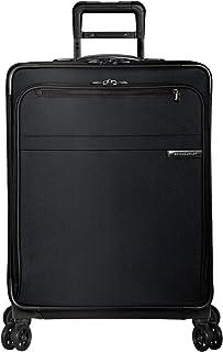 Briggs & Riley Baseline Valise Extensible à 4 Roues Taille M 63,5 cm 95 l, Noir (Noir) - U125CXSP-4