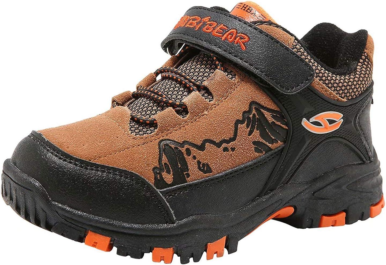 HOBIBEAR Kids Snow Boots Boys Girls Winter Boots Outdoor Warm Shoes Waterproof Hiking Boots(Little Kid/Big Kid)…