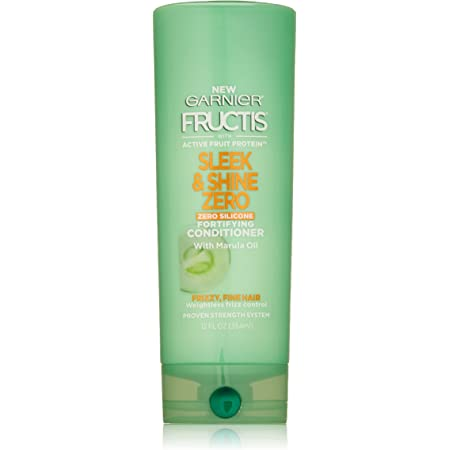 Garnier Hair Care Fructis Sleek and Shine Zero Conditioner, 12 Fluid Ounc