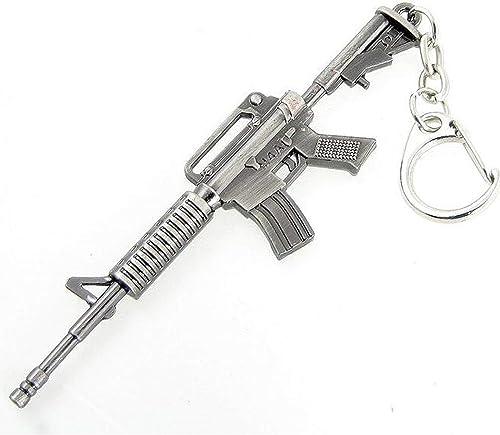 discount Mallofusa Miniature Metal M4a1-Gray popular Assault discount Rifle Gun Model Keychain Bag Pendant Ornament Gift outlet sale