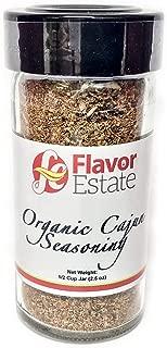 Organic Cajun Seasoning - gluten free herbs seasoning, blackening seasoning, all purpose seasoning, poultry seasoning, seafood seasoning, salt free seasoning. Creole seasoning: 100% organic spices.