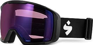 Sweet Protection Clockwork Max RIG Goggles 2020 - Matte Black-Rig Amethyst/Part Sun