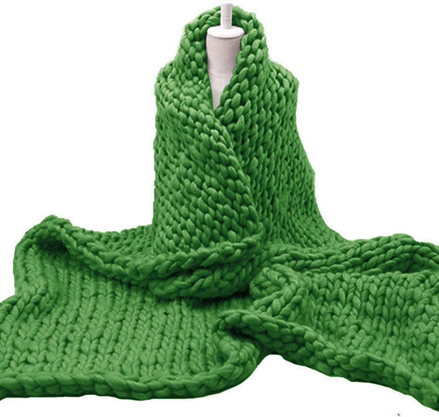 Chunky Knit Blanket Handwoven Finally popular brand Soft Cozy for New products world's highest quality popular Throw So Bed