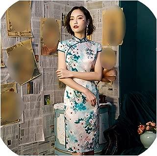 Hengheng-shop Long Qipao Party Dress China Banquet Clothing Traditional Chinese Dress Female Cheongsam Modern