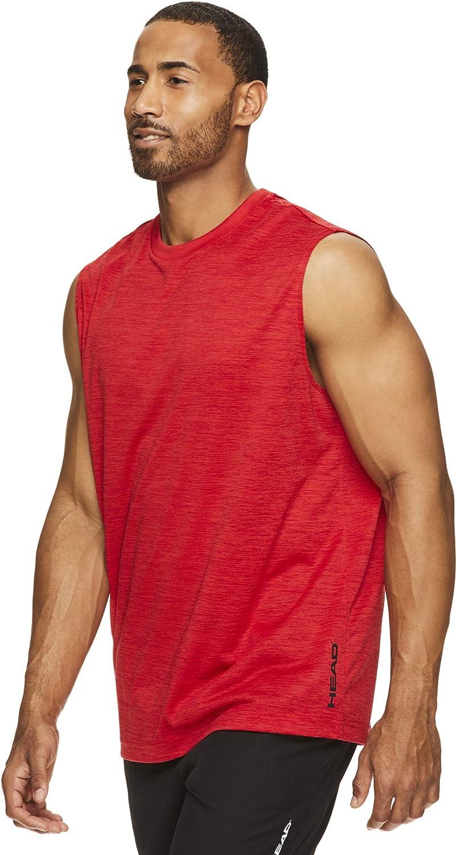 HEAD Mens Power Gym Tennis /& Workout Muscle Tank Sleeveless Activewear Top