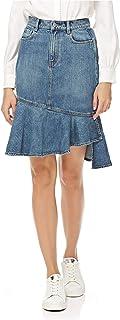 Miss Sixty Peplum Skirt For Women - Denim - S