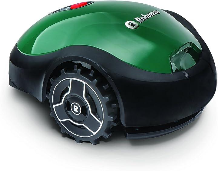 Tagliaerba robot - robomow rx12u rasaerba, verde, 100 w, 240 v, 250 mq  -  mtd