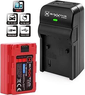 Baxxtar Pro III - Repuesto para la batería Sony NP-FZ100 - también para Alpha 6600 - Alpha 7R IV - Alpha 9 II