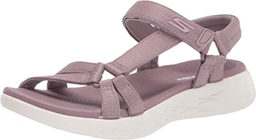 Skechers Performance On-The-go 600-Brilliancy, Sandalia con Pulsera Mujer