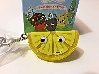 Kidrobot Yummy World Fresh Friends Figure Keychain - Lemon Wedge