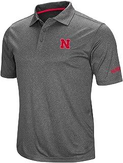Mens Nebraska Cornhuskers Short Sleeve Polo Shirt
