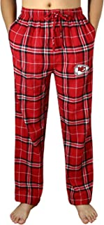 Mens KC Chiefs Winter Plaid Pajama/Sleepwear Pants - Multicolor