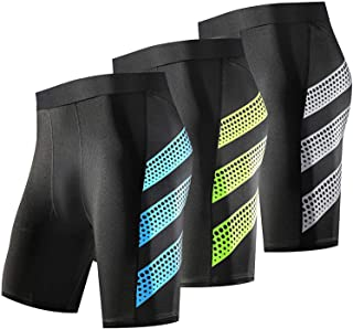 Men's Compression Shorts 3 Packs Cool Dry Baselayer Workout Tights