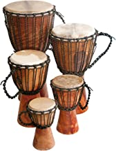"Djembe Beginner Plain,12"" tall, 6.5-7"" head"