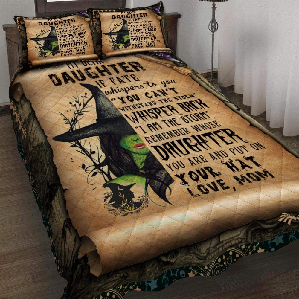 GEEMBI Quilt Bedding Award Set-Mom to S Witch Bed Girl Houston Mall Daughter