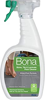 Bona Stone, Tile & Laminate Floor Cleaner Spray, 32 oz, Clear, 32 Fl Oz