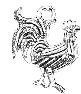 Quantity Options BFS3346 Chicken Lady Stainless Steel Charm Exclusive Line