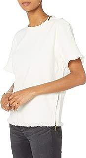 Kenneth Cole Women's Denim Moto T-Shirt