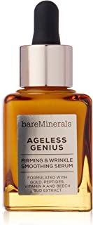 bareMinerals Ageless Genius Firming and Wrinkle Smoothing Serum for Women - 1 oz Serum, 30 ml