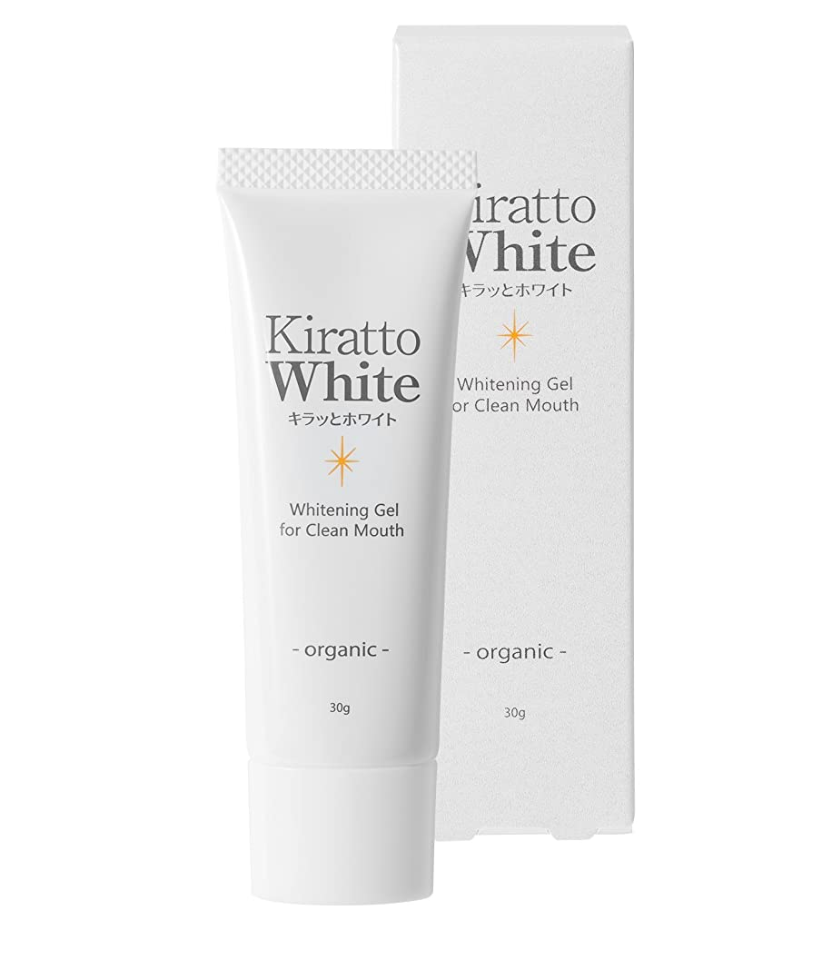 順応性水曜日閃光キラッとホワイト(ホワイトニング歯みがきジェル)ライムミント風味 30g(1ヶ月分)