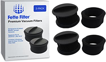 Fette Filter - Filter Set Compatible with Bissell PowerForce & Helix Turbo Inner and Outer, Compare to Part # 203-7913. Combo Pack