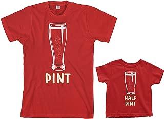 Threadrock Pint & Half Pint Toddler & Men's T-Shirt Matching Set