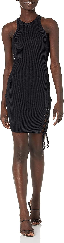 GUESS Women's Sleeveless Alexa Mini Lace-up Dress