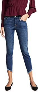 7 For All Mankind Women's The Ankle Skinny Jeans with Angled Hem