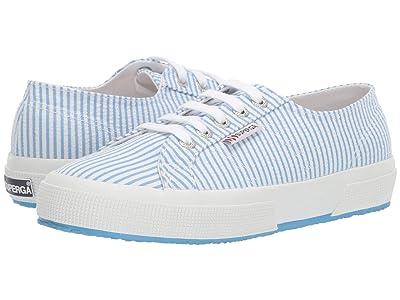 Superga 2750 Janw Sneaker (Blue Stripes) Women