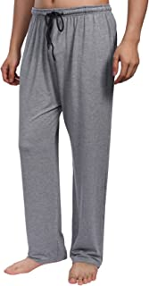 Mens Lounge Pants, Casual Soft Comfy Modal Elasticated Waist Pyjamsa Bottoms Trousers Nightwear Sleepwear