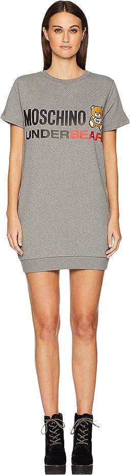 Cotton Fleece Sweat Dress