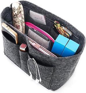 Enerhu Felt Insert Bag Handbag Tote Purse Organizer Pocket Bag in Bag Backpack