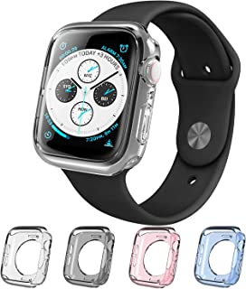 i-Blason Case Compatible with Apple Watch 4 / Watch 5 [44mm], Halo Series TPU Cases [4 Color Combination Pack] [Compatible with Apple Watch Series 4 2018 Release/Series 5 2019 Release] (44 mm)