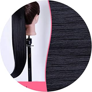 Long Claw Ponytail Hairpiece Clip In Hair Extension Hair Tail Long Ponytail Clip Fake Hair,#2,22inches