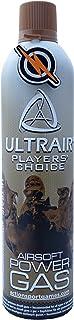Ultrair Airsoft Green Gas, Granada de Pistola ASG y propulsor de Pistola para Todas Las Armas BB y Parche de First y Solo Gas Airsoft.