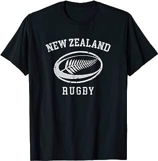 New Zealand Rugby Shirt | Maori Rugby Tshirt | Kiwi Fern