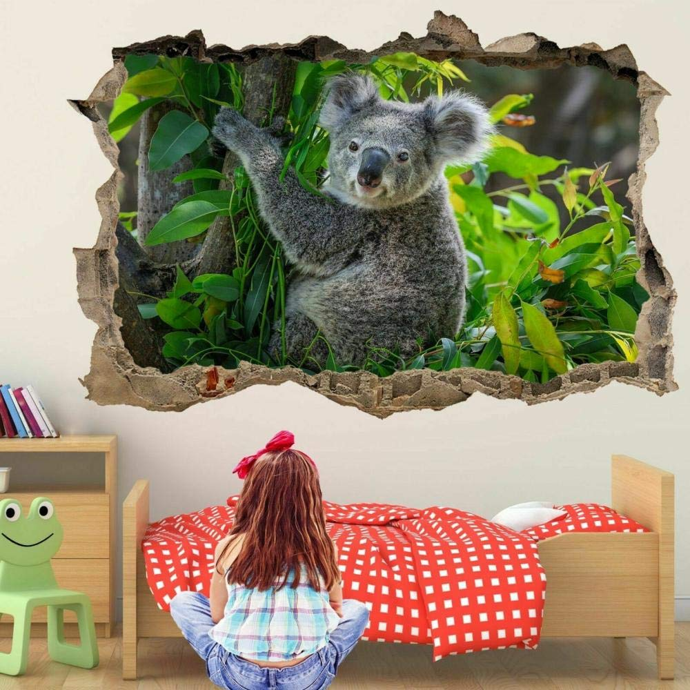 Free Shipping Cheap Bargain Gift DDSYJ 3D Wall Stickers Animal Po Mural Decal Sticker Art OFFicial shop