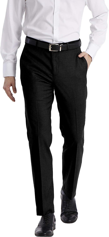 Calvin Klein mens Slim Fit Dress Pant at  Men's Clothing store