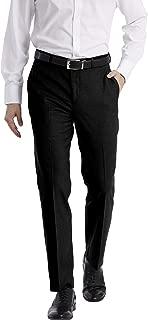 Men's Slim Fit Performance Flat Front Stretch Dress Pant